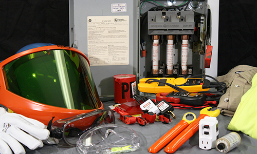 Electrical Safety Gear : Basic electricity for commercial industrial equipment
